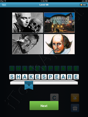 History Quiz Level 98 Solution