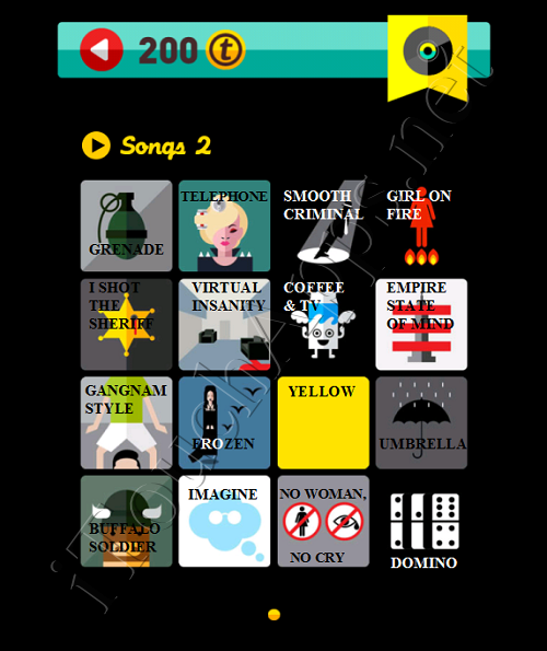 Icon Pop Quiz Game Weekend Specials Songs 2 Answers / Solutions