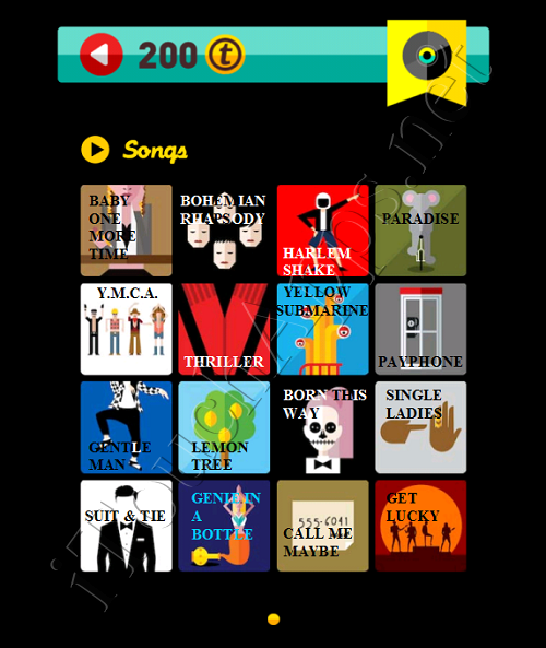 Icon Pop Quiz Game Weekend Specials Songs Answers / Solutions