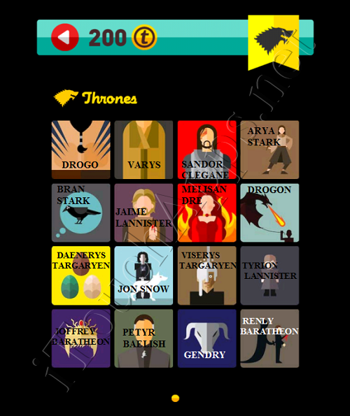 Icon Pop Quiz Game Weekend Specials Thrones Answers / Solutions