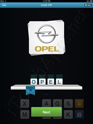Logo Quiz Level 125 Solution