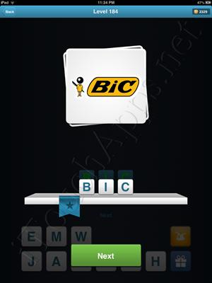 Logo Quiz Level 184 Solution