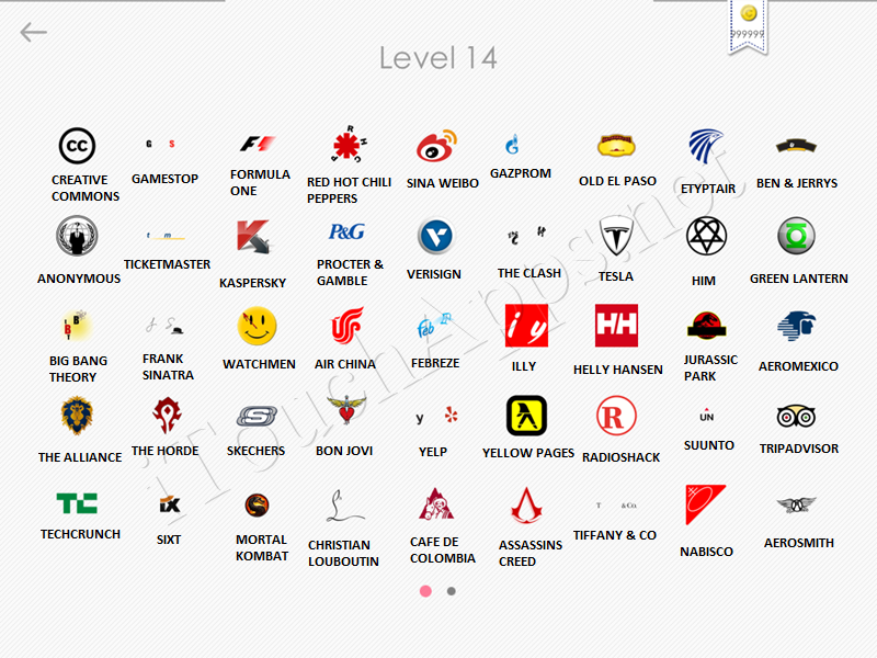logos quiz answers: level 14 part 1