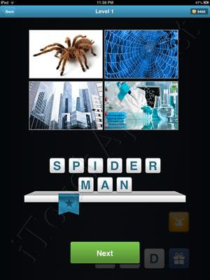 Movie Quiz Level 1 Answer