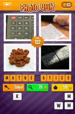 Photo Quiz Arcade Pack Level 132 Solution