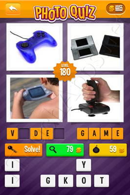 Photo Quiz Arcade Pack Level 180 Solution