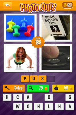 Photo Quiz Arcade Pack Level 188 Solution
