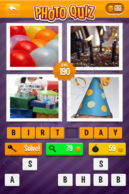 Photo Quiz Arcade Pack Level 190 Solution