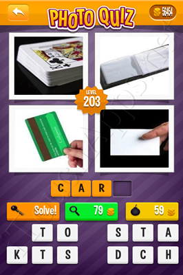 Photo Quiz Arcade Pack Level 203 Solution