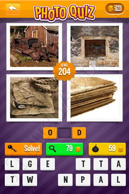 Photo Quiz Arcade Pack Level 204 Solution