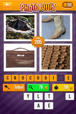 Photo Quiz Arcade Pack Level 205 Solution