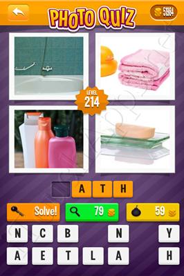 Photo Quiz Arcade Pack Level 214 Solution