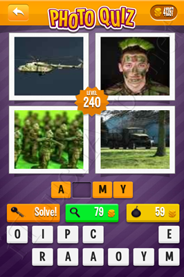 Photo Quiz Arcade Pack Level 240 Solution
