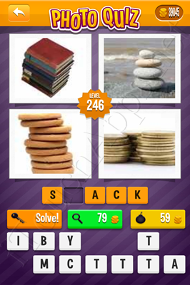 Photo Quiz Arcade Pack Level 246 Solution