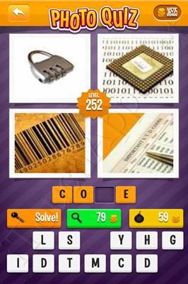 Photo Quiz Arcade Pack Level 252 Solution