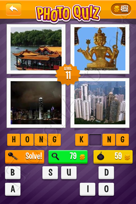 Photo Quiz Cities Pack Level 11 Solution