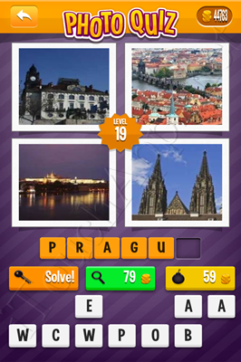 Photo Quiz Cities Pack Level 19 Solution