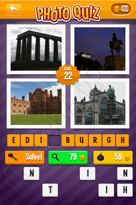 Photo Quiz Cities Pack Level 22 Solution