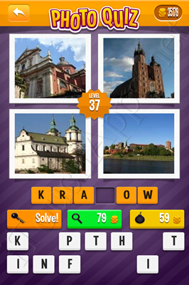 Photo Quiz Cities Pack Level 37 Solution