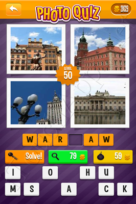 Photo Quiz Cities Pack Level 50 Solution