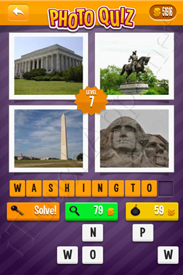 Photo Quiz Cities Pack Level 7 Solution