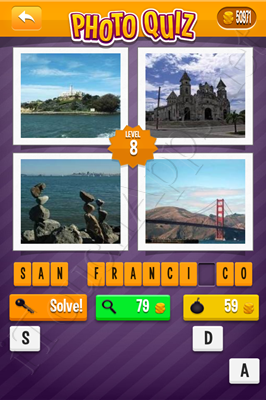 Photo Quiz Cities Pack Level 8 Solution