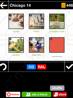Pics & Pieces Chicago Pack Level 14 Answer