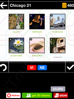 Pics & Pieces Chicago Pack Level 21 Answer