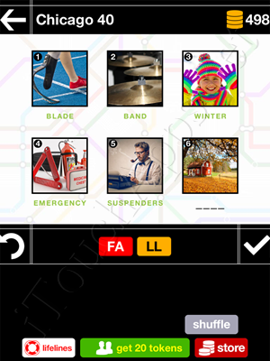 Pics & Pieces Chicago Pack Level 40 Answer