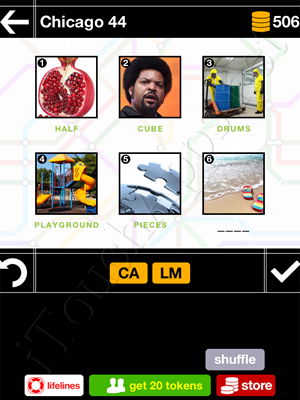 Pics & Pieces Chicago Pack Level 44 Answer