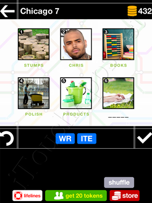Pics & Pieces Chicago Pack Level 7 Answer