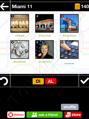 Pics & Pieces Miami Pack Level 11 Answer