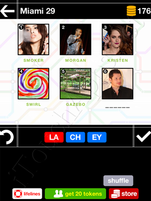 Pics & Pieces Miami Pack Level 29 Answer