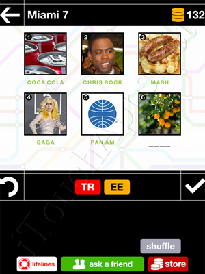 Pics & Pieces Miami Pack Level 7 Answer