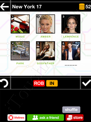 Pics & Pieces New York Pack Level 17 Answer