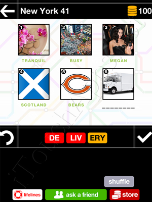 Pics & Pieces New York Pack Level 41 Answer
