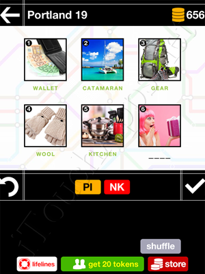 Pics & Pieces Portland Pack Level 19 Answer