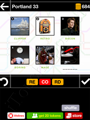 Pics & Pieces Portland Pack Level 33 Answer