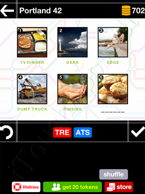 Pics & Pieces Portland Pack Level 42 Answer