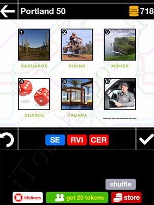 Pics & Pieces Portland Pack Level 50 Answer