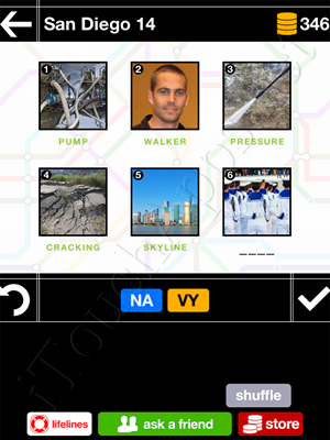 Pics & Pieces San Diego Pack Level 14 Answer