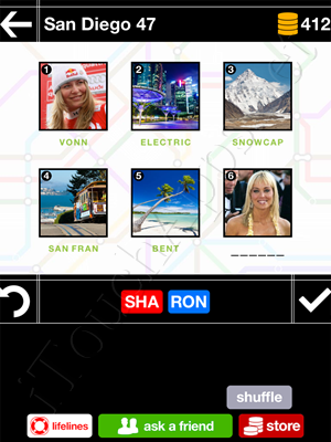 Pics & Pieces San Diego Pack Level 47 Answer