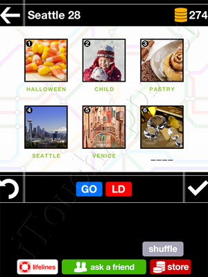 Pics & Pieces Seattle Pack Level 28 Answer