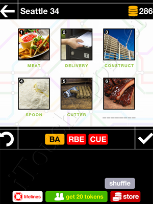 Pics & Pieces Seattle Pack Level 34 Answer