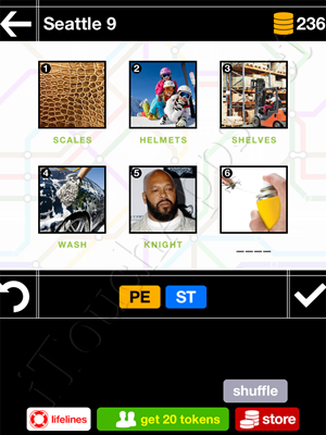 Pics & Pieces Seattle Pack Level 9 Answer