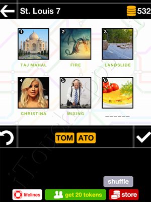 Pics & Pieces St Louis Pack Level 7 Answer