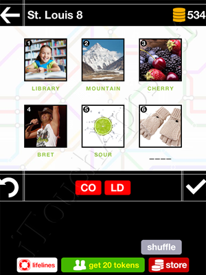Pics & Pieces St Louis Pack Level 8 Answer