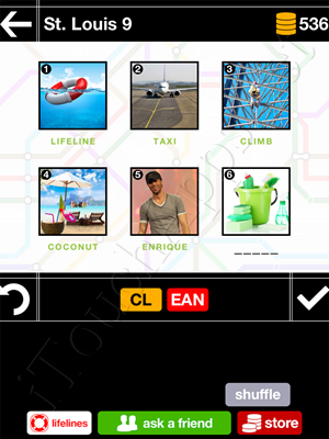 Pics & Pieces St Louis Pack Level 9 Answer