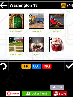 Pics & Pieces Washington Pack Level 13 Answer