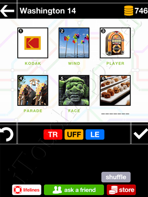 Pics & Pieces Washington Pack Level 14 Answer